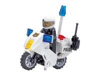 Enlighten Child motocycles of Police 30pcs