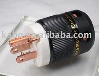 NEW High End Performance Teflon R-Copper USA Power Plug