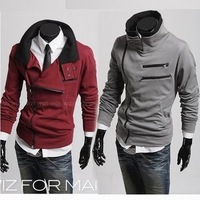 Мужской жилет New Men's Vest Stand Collar Reversible Cotton-padded Vest Coat