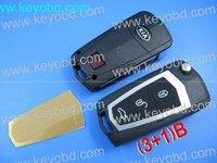 Kia Cerato Flip Remote Key Shell 4 button.locksmith tools.remote key shell