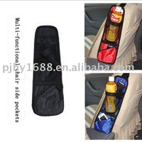 Free shipping (1piece) New 100% nylon automobile Chair side organizer wholesale and retail