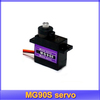 Tower Pro Metal gear Digital MG90S 9g Servo Upgraded SG90 For Rc Helicopter plane boat car MG90 9G + free shipping
