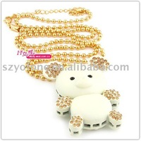 fashion design 4GB 8GB  crystal bear shape  usb stick