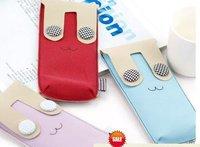 Free Shipping/Fashion Cartoon Velvet Pencil Case/Bag/Pocket/Cosmetic Bag/coin bag/Pouch/Korean Style/creative Gift/Wholesale
