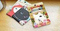 Free Shipping/Cartoon cat type III card case/holder/Card case/bag/cat Style documents folder/baggage slip/Hot Fashion /Wholesale