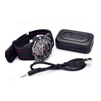 Watch Camera With 4GB 720 HD DVR USB Black Waterproof Camera