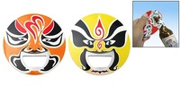 FREE SHIPPING 50pcs/lot Beijing Opera Peking Opera Laughing Faces Mask Bottle Opener Can Opener/chinese characteris