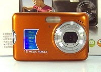 "Free shipping Digital Still Camera 12MP 2.7"" LCD 8X Digital zoom Anti-Shake DC Camera (DC-500FE)"