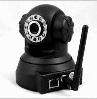 Wholesale - UPDATE VERSION Wireless IP WiFi Internet Pan Tilt PTZ Dual Audio Camera ,IP Cameras