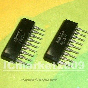 10 PCS AN6884 9-SIP 5-Dot LED Driver Circuit