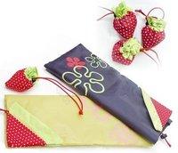 Strawberry Bag Reusable Cute Eco Reusable Shopping Shoulder Tote Bag 500pcs