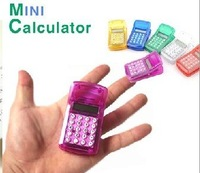 Free Shipping mini portable magnetic paper clip calculator