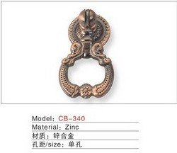 Best selling Zinc Alloy Front door Cabinet Furniture Handle CB340(China (Mainland))