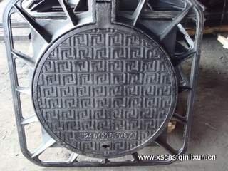 850x850 cast iron manhole cover(China (Mainland))