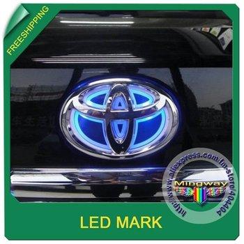 Free shipping+ LED Mark / Car Mark for TOYOTA