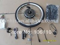 36v 350w big motor electric bike conversion kits with rear wheel