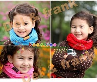 Free shipping 1pcs Costume Beanie Kids Child Warmer Scarf wraps scarves