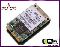 New MINI PCI-E BCM4311KFBG BCM4311 wireless Lan WIFI card 54Mbps for DELL 1390 dell asus Laptop free shipping