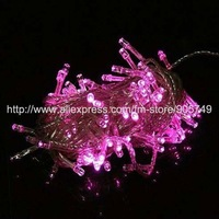 free shipping pink led string light purple led light festival holiday christmas lights