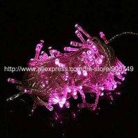 free shipping pink led string light purple led light festival holiday christmas lights