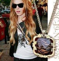 Korean fashion hot tiger vein chain necklace