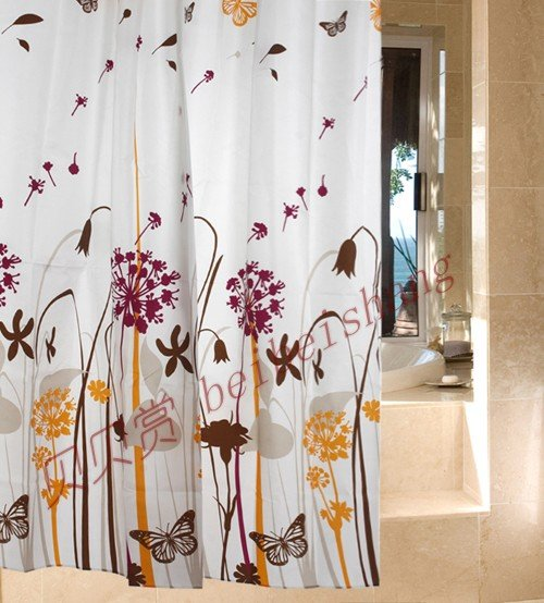 Yellow Fabric Shower Curtains-Buy Cheap Yellow Fabric Shower ...
