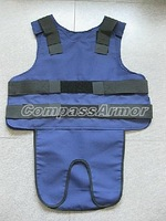Medium Size Concealable bulletproof vest, protection Level IIIA Body Armor for VIP