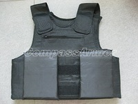 Extra Extra Large Size Police Body Armor IIIA Protection level with trauma plate free shipping cost to world