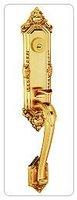 quality goods/China top ten lock king/Shanghai 808/european-style deluxe exterior door lock/of hand le locks  HL62-SB/GP