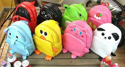Ems grátis frete venda quente 20 pçs/lote atacado Linda crianças animal bonito mochila crianças mochilas escolares saco de ombro(China (Mainland))