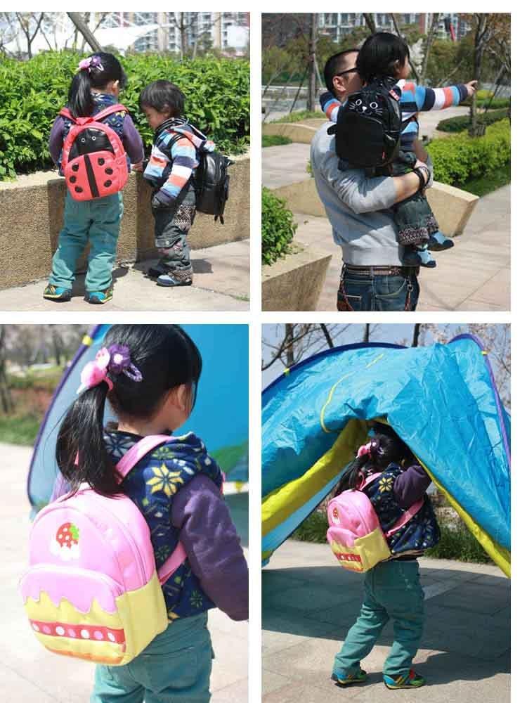 Ems grátis frete venda quente 30 pçs/lote atacado Linda crianças animal bonito mochila crianças mochilas escolares saco de ombro(China (Mainland))