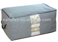 Bamboo Charcoal Fiber Quilt/blanket/overcoat storage bag storage box Within /Heightening quilt sack