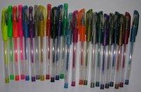 Free shipping, wholesale school items,soft grip glitter/metallic/fluorescent Gel Ink Pens, 100pcs/lot