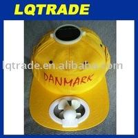 One pcs hot sale,Solar Cap/Solar Fan/sunbonnet High quality cotton cap