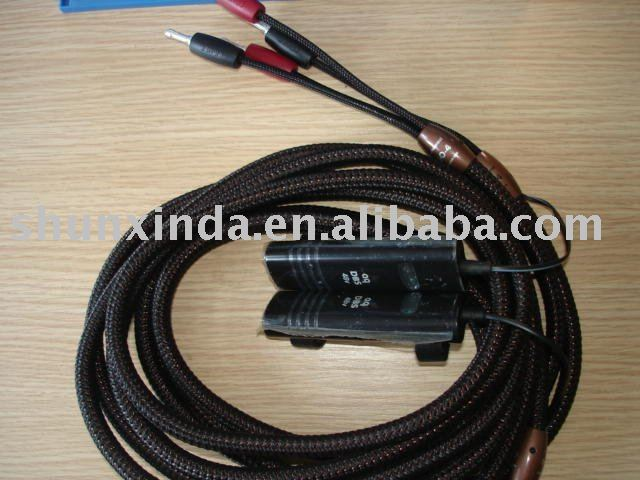 Audio cable GO-4 Speaker Cable with 48V DBS 3m NEW Star-quad geometry(China (Mainland))