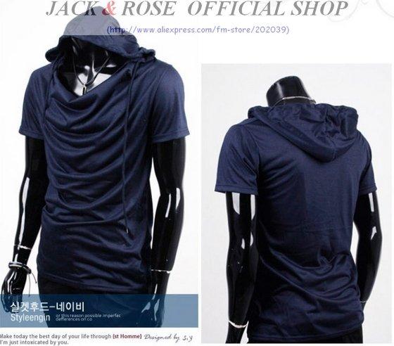 Men's short sleeve V-neck cotton polo t Shirts/Mens cotton POLO R ...