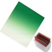 Wholesale Fotga gradual green square filter