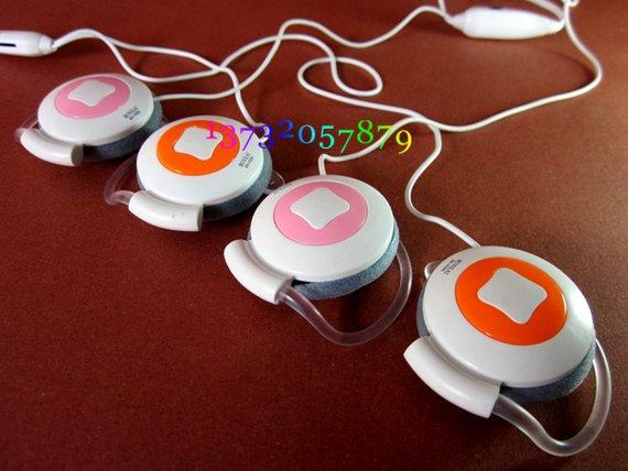 Freeshipping personality headset,Hang ear in-ear headphones,fashion earphone,game earphone,microphone,sport earphone
