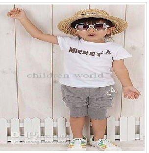 Wholesale - baby suits short tshirt + shorts baby boys suits for summer boys shorts pants boys short t-shirts
