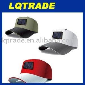 Solar Cap/Solar Hat/Sunbonnet/Solar Charger 6V/200mA