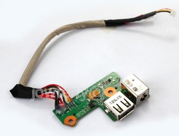 DC-IN Power Jack Cable/USB Board For HP DV6000 V6000 + Free shipping