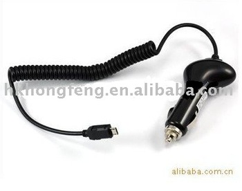 50pcs/lot Micro USB car charger for blackberry 9500