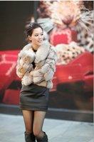 New Fashion Short Style Fox Fur Jacket- Fox Fur Coat 006