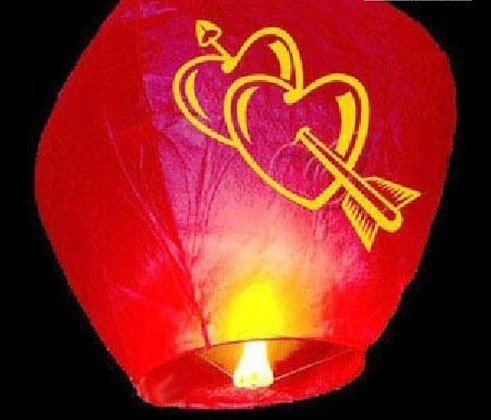Sky Lanterns Wishing Lamp Chinese Kong Ming Lantern(China (Mainland))