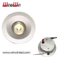 Led downlight 1W Warm white or white with Driver Energy Saving led celling Light Hole size:20mm 10pcs/lot Free Shipping