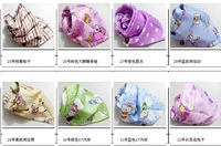 free shipping Baby triangle towel/child cotton bib headscarf scarf/multi-purpose bag headscarf saliva towels  50pcs