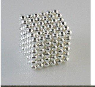 Free shipping! Neodymium N35 White Neo Cube Power Magnetic Sphere Neocube Balls