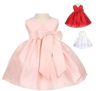 Free shipping 2011 bestselling ruffle ball gown popular butterfly flower girl dress ruched children gown dress