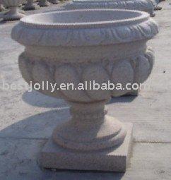 stone flowerpot,Stone Carving, Garden Landscape, Sculpture for Wholesales