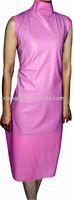 100% handmade latex pink dress